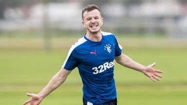 Return: Andy Halliday is back at Rangers.