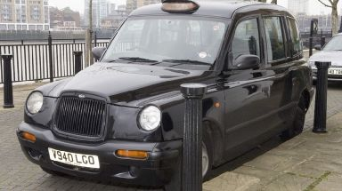 The cab previously used by Worboys.