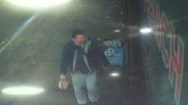 CCTV: Police also issued a description of the man.