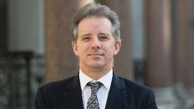 Christopher Steele: Ex-British agent was involved in dossier.