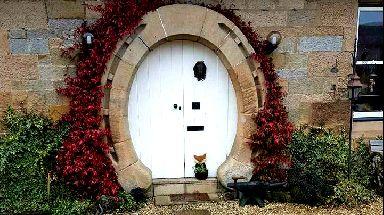 Knock knock: Striking doorways spotted across Scotland.