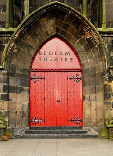 Bedlam Theatre in Edinburgh is instantly recognisable.