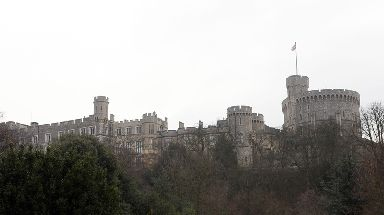 The gems were hidden in the tin and buried under a sally port at Windsor Castle.