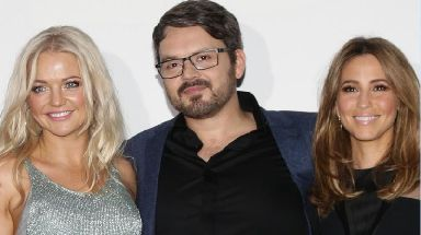 Paul Cattermole, pictured in 2014 with fellow band mates Hannah Spearritt and Rachel Stevens.