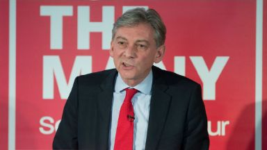 Richard Leonard: The Labour MSP took charge of the party in November.