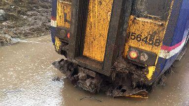 ScotRail train derailed between Arisaig and Glenfinnan, Lochaber