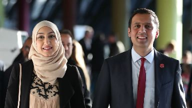 Anas Sarwar: Said wife Furheen had also been targeted during campaign.