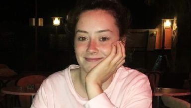 Aimee Sweeney: Died after falling ill outside house.