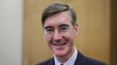 "Rees-Mogg said of Grant: ""If he says he didn't make it, he says he didn't make it, but he made a very similar claim on Twitter."""
