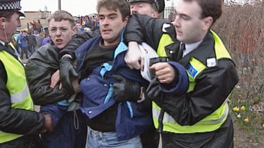 Tommy Sheridan: The dispute became a popular cause among activists.