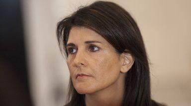 US Ambassador Nikki Haley said sanctions now ban well over 90% of North Korea's exports reported in 2016.