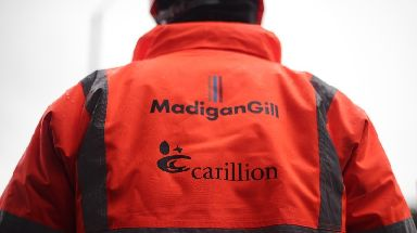 Firms hit by Carillion's collapse can apply for a government-backed loan.