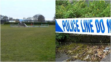 Orchar Park: Forensic officers called.