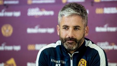 Rise: Lasley says Motherwell are back in the groove.