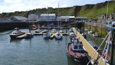 Fall: Vessel returned to Scrabster Harbour.