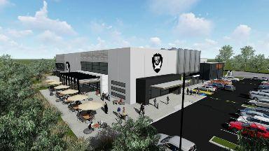 Planned BrewDog facility in Brisbane, Australia.