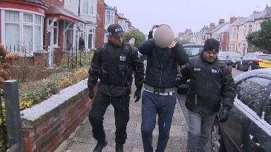 A total of 21 people were arrested during the raid.