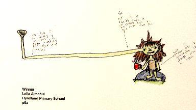 Winner: Laila Altschul, Hyndland Primary (P6A)