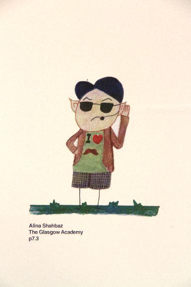 Alina Shahbaz, Glasgow Academy Primary P7/3