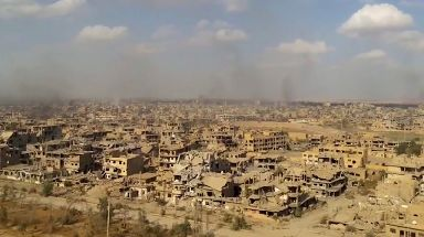 Deir el-Zour was liberated from so-called Islamic State last year.