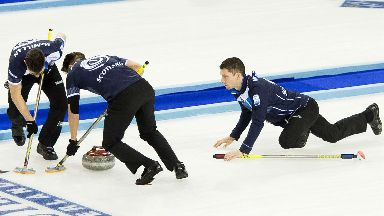 Greg Muirhead (right) has been selected alongside his brother as part of the men's rink.