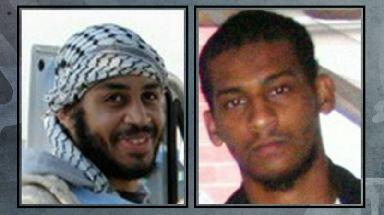 Alexanda Kotey, left, and El Shafee Elsheikh have reportedly been captured.