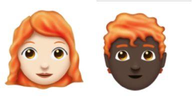 Ginger: New redhead emojis.