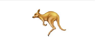 Kangaroo: Will be hopping onto your smart phone.