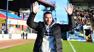 Signing: Caulker joined Dundee last week.