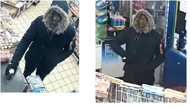 CCTV: Shop robbed in Dundee.