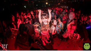 Party: This family rave is suitable for kids of all ages.