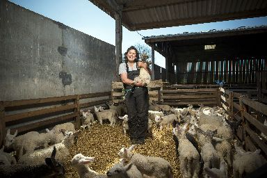 Fiona says farming was always in her sights even as a young adult.