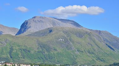 The pair had just climbed Ben Nevis in  Fort William.