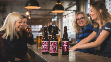Pink IPA: 20% of profits will go to gender equality campaigns.