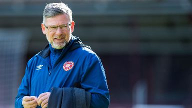 Passion: Levein says he loves the Edinburgh derby.