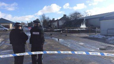 Investigation: Police treat incident as 'suspicious'.