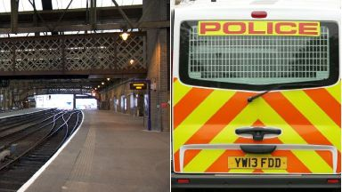 Police: The teenager was arrested at Perth Station on Tuesday.