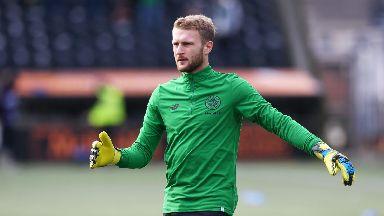 Scott Bain will make his Celtic debut against Rangers.