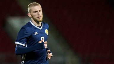 Oli McBurnie has played for Scotland at youth level but will now join the senior set up.