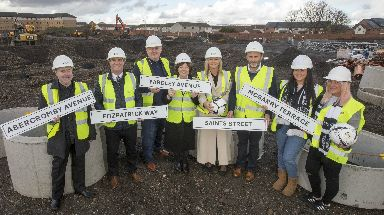 Development: 132 affordable homes being built.