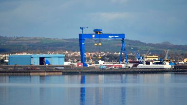 Rosyth: Hundreds of jobs have been slashed over the years.