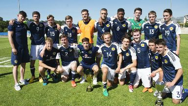 Scotland reached the semi-final of last year's Toulon tourament.