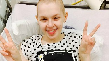 Cancer battle: Kira's third time battling the disease.