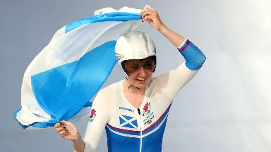 Katie Archibald will be flying the flag of Scotland in her home country.