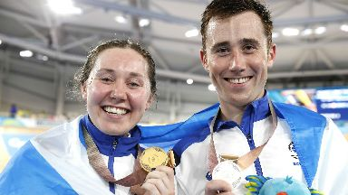 Katie and John Archibald won gold and silver medals respectively on day two.