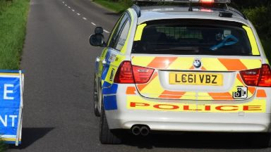 Motorcyclist dies in crash after overtaking two cars