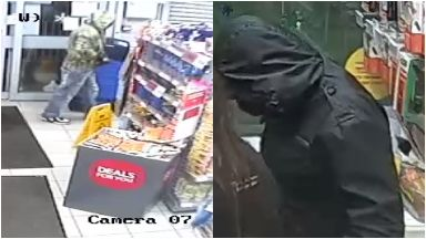 CCTV appeal: Police want to trace these men.