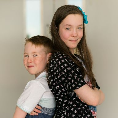 Charlotte and Zak are the third generation to study at QMU in their family.