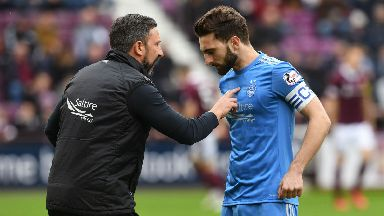 McInnes will be without captain Graeme Shinnie.