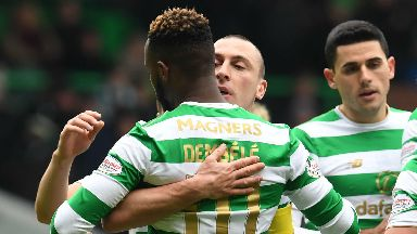 Moussa Dembele has scored six Old Firm goals.